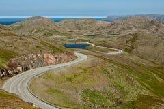 Honningsvag en Norvège Photographie stock libre de droits