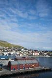 Honningsvag port Stock Images