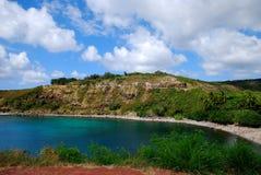 Honolua Bay in Maui Royalty Free Stock Photography