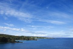 Honolua, Maui, Hawaii coast. Stock Image