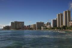 Honolulu beach Stock Photo