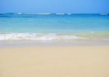 Honolulu beach. Sunny day to Honolulu, Hawaii Stock Images