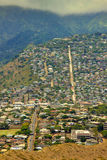 Honolulu bergsikt Royaltyfria Foton