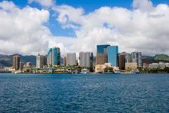 Honolulu céntrica 2 foto de archivo libre de regalías