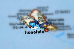 Honolulu, the capital city of Hawaii U.S. Honolulu, the capital and largest city of the U.S. state of Hawaii Selective focus royalty free stock photos