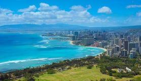 Honolulu, cidade de Havaí Fotografia de Stock
