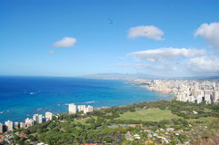 Honolulu Coast Royalty Free Stock Photo
