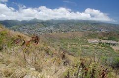 Honolulu da Diamond Head immagini stock libere da diritti