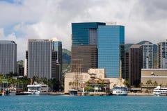 Honolulu del centro Fotografia Stock