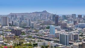 Honolulu del centro Immagine Stock