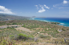 Honolulu from Diamond Head Stock Images