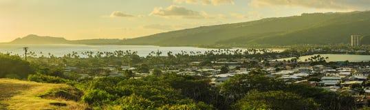 Honolulu en Oahu, Hawaii, los E.E.U.U. imagenes de archivo