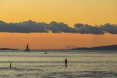 Honolulu en Oahu, Hawaii, los E.E.U.U. fotos de archivo libres de regalías