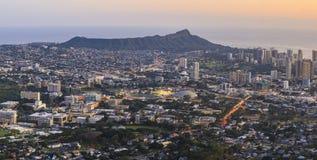 Honolulu en Oahu, Hawaii, los E.E.U.U. fotografía de archivo libre de regalías