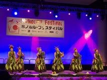 Honolulu Festival 10 Stock Image