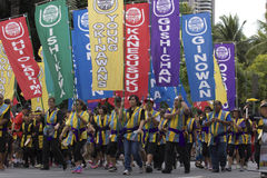 Honolulu festival Arkivbild