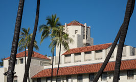 Honolulu Hale seat of Government in state Royalty Free Stock Image