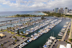 Honolulu Harbor Royalty Free Stock Photos