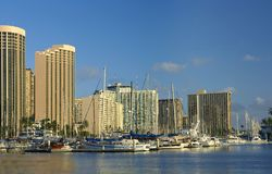 Honolulu - harbor Royalty Free Stock Photos