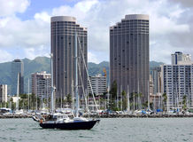Honolulu Harbor Stock Photos