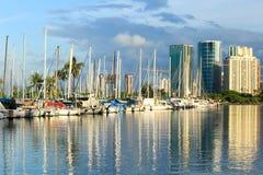 Honolulu harbor Royalty Free Stock Image