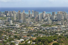 Honolulu Hawai fotografia stock libera da diritti