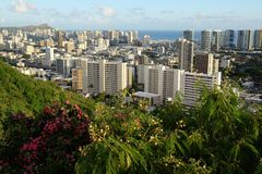 Honolulu Hawai Immagine Stock Libera da Diritti