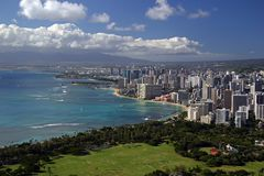 Free Honolulu, Hawaii Royalty Free Stock Photography - 463107