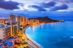 Honolulu, Hawaii stockfotos