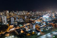 Honolulu Hawaii at night Royalty Free Stock Photos