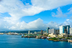Honolulu, Hawaii, United States. Beautiful view of Honolulu, Hawaii, United States royalty free stock photography