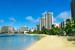 Honolulu, Hawaii, United States. Beautiful view of Honolulu, Hawaii, United States royalty free stock images