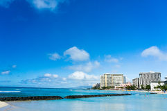 Honolulu, Hawaii, United States. Beautiful view of Honolulu, Hawaii, United States royalty free stock photos