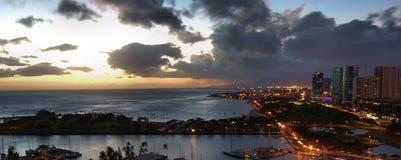 Honolulu Hawaje usa Obraz Royalty Free