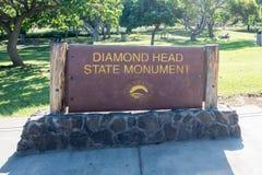 Diamond Head Royalty Free Stock Images