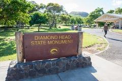 Diamond Head Stock Image