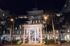 Moana Hotel in Honolulu. Honolulu, HI: September 27, 2016: Moana Hotel on the island of Oahu, state of Hawaii. Moana Hotel opened in 1901 Stock Photography