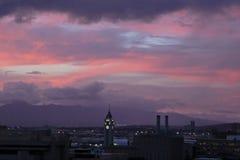 Honolulu i November Royaltyfri Fotografi
