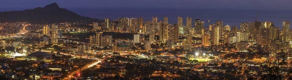 Honolulu i Oahu, Hawaii, USA royaltyfri bild