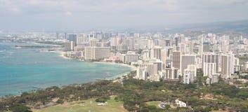 Honolulu i Waikiki Zdjęcia Stock