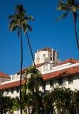 Honolulu instämmer platsen av regeringen i tillstånd Royaltyfri Fotografi
