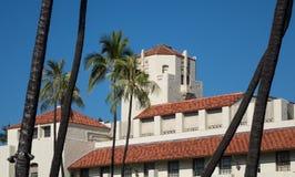 Honolulu instämmer platsen av regeringen i tillstånd Royaltyfri Bild