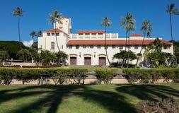 Honolulu instämmer platsen av regeringen i tillstånd Royaltyfria Bilder