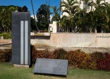 Honolulu instämmer platsen av regeringen i tillstånd Royaltyfri Foto