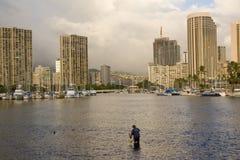 Honolulu - l'Hawai Fotografia Stock Libera da Diritti