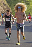 Honolulu maratonkulle Arkivfoto