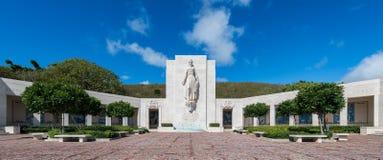 Honolulu minnesmärke royaltyfri fotografi