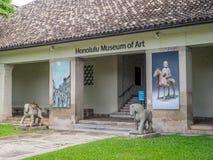Honolulu Museum of Art Stock Photo