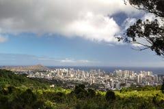 Honolulu, Oahu, Havaí Imagem de Stock