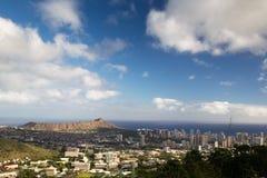 Honolulu, Oahu, Hawaï Image libre de droits